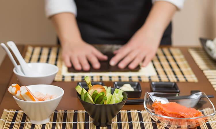 Sushi-teria New York - Sushi Class rolls