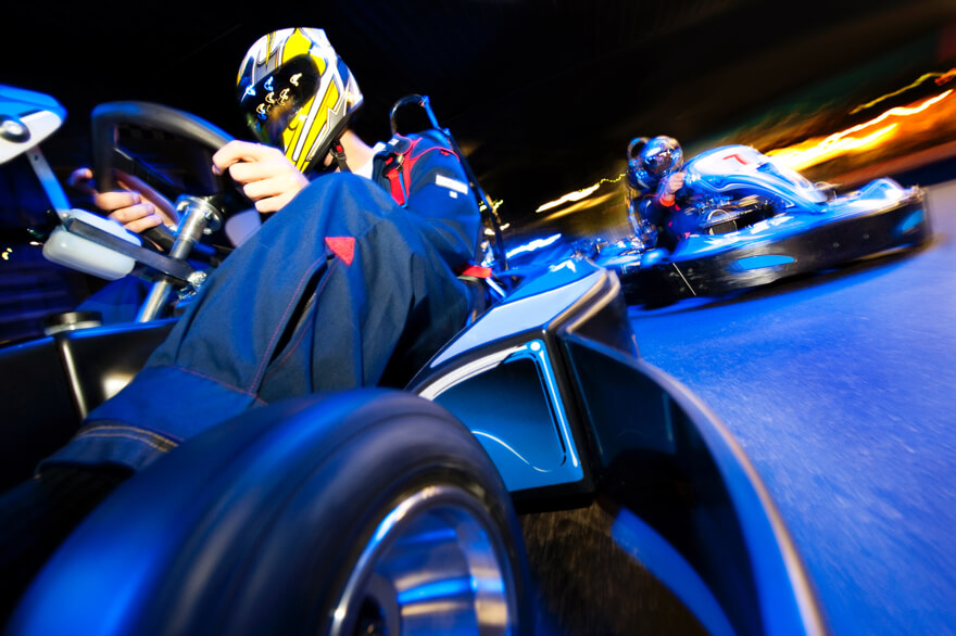 Go-karting date ideas