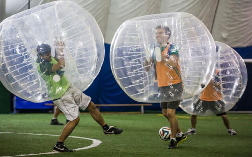 Bubble Soccer Toronto Team Building Event
