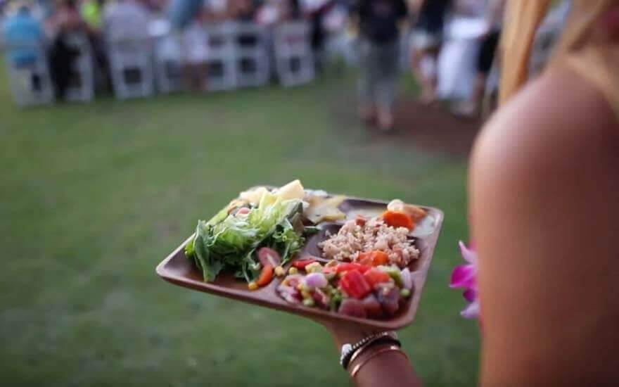 diamond head luau food
