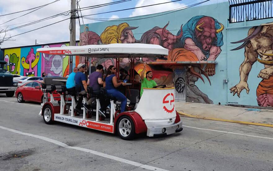 party bike pub crawl