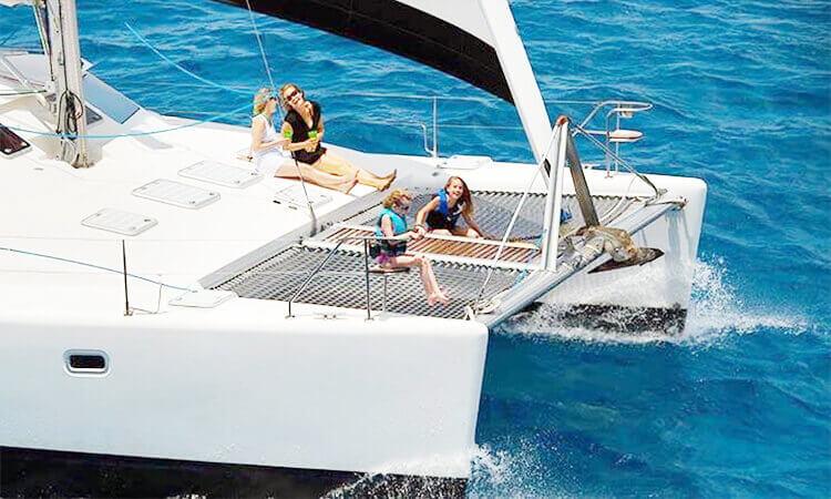 Half Day Luxury Catamaran Sail - St Thomas