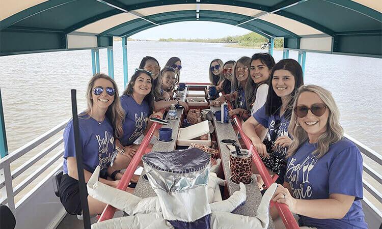 Pedal Barge Tour