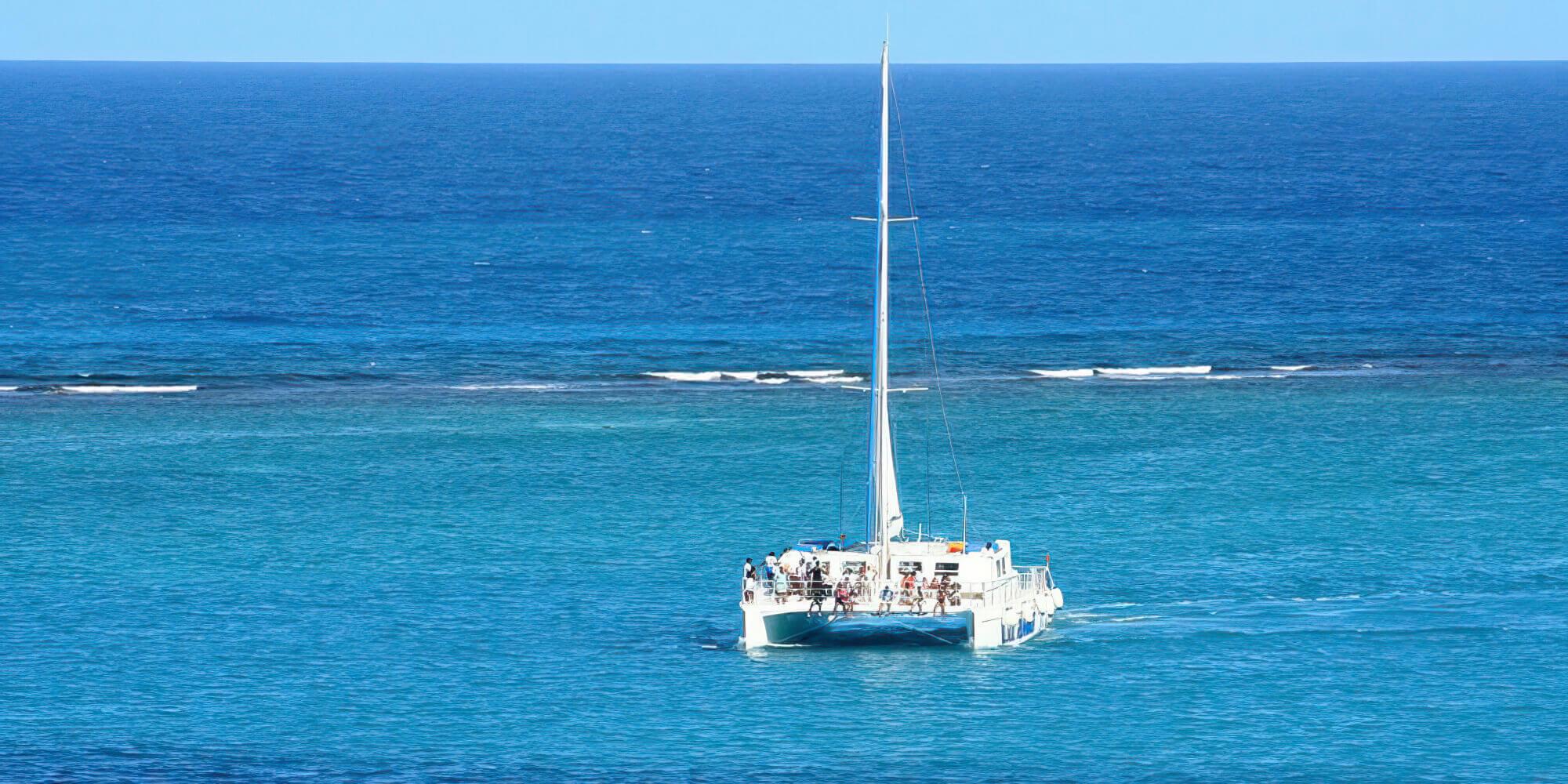 st thomas us virgin islands - catamaran tour