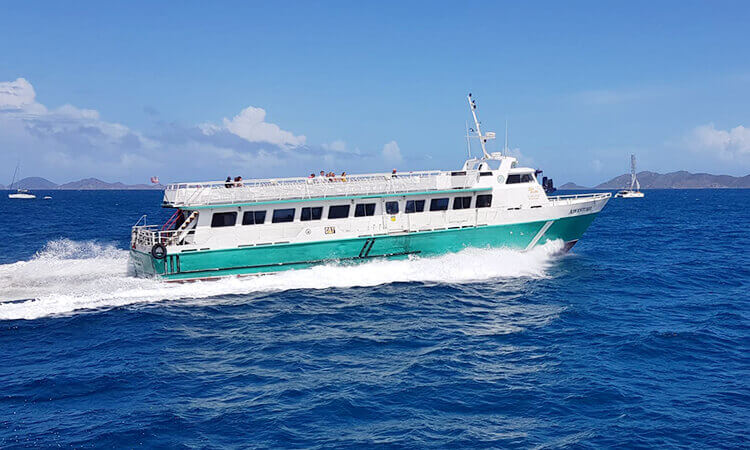 Ferry Service: Charlotte Amalie to Road Town