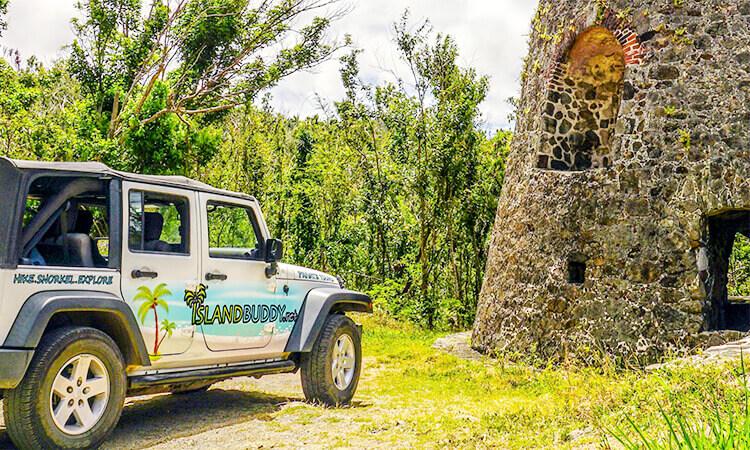 Private Island Jeep Tour St. John