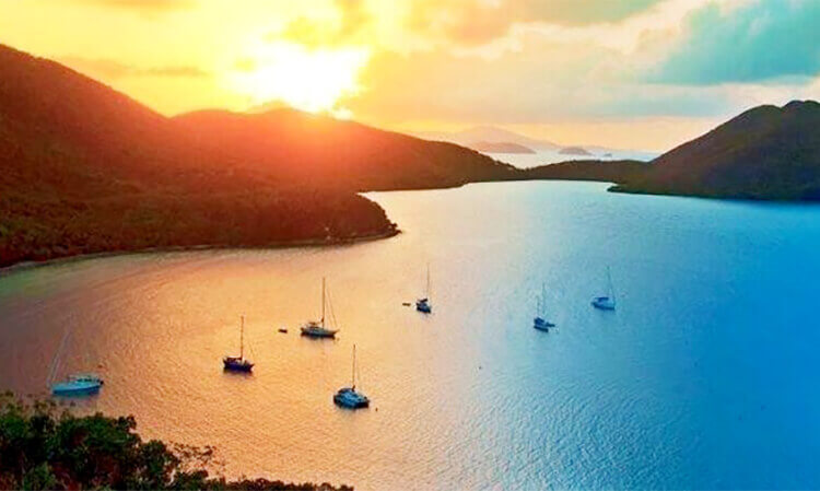 St. John USVI Sunset Cruise