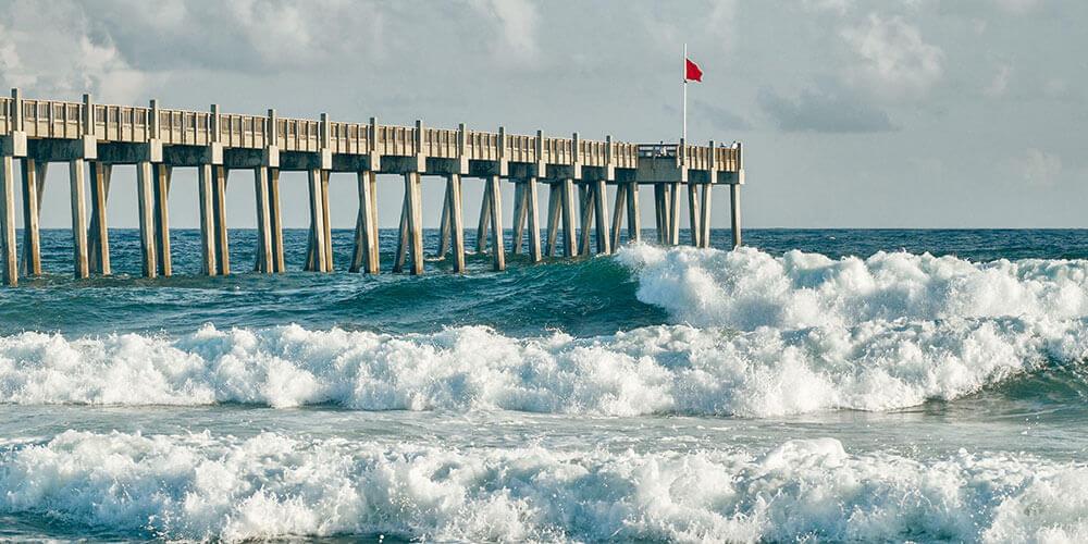 Pensacola Beach Fishing Pier, Pensacola Florida