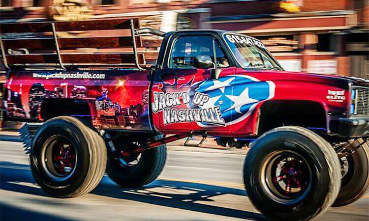 Jack'd Up Monster Truck