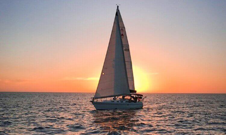 Sunset Sail on Vision