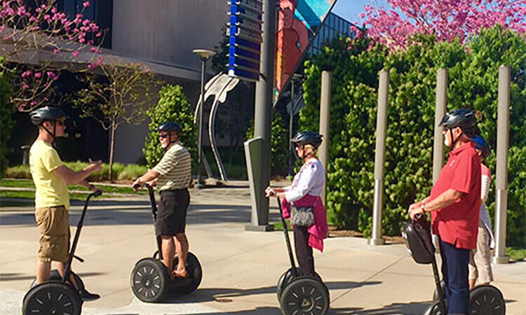 Capitol of Texas Sightseeing Segway Tour